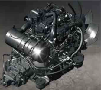 Kobelco Engine Assembly